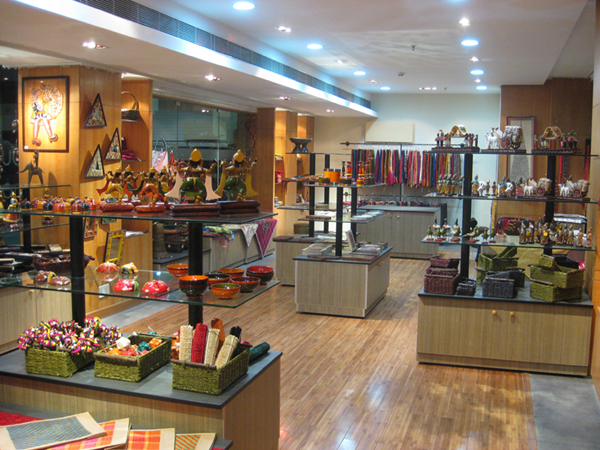Retail Design, Kamala Shop